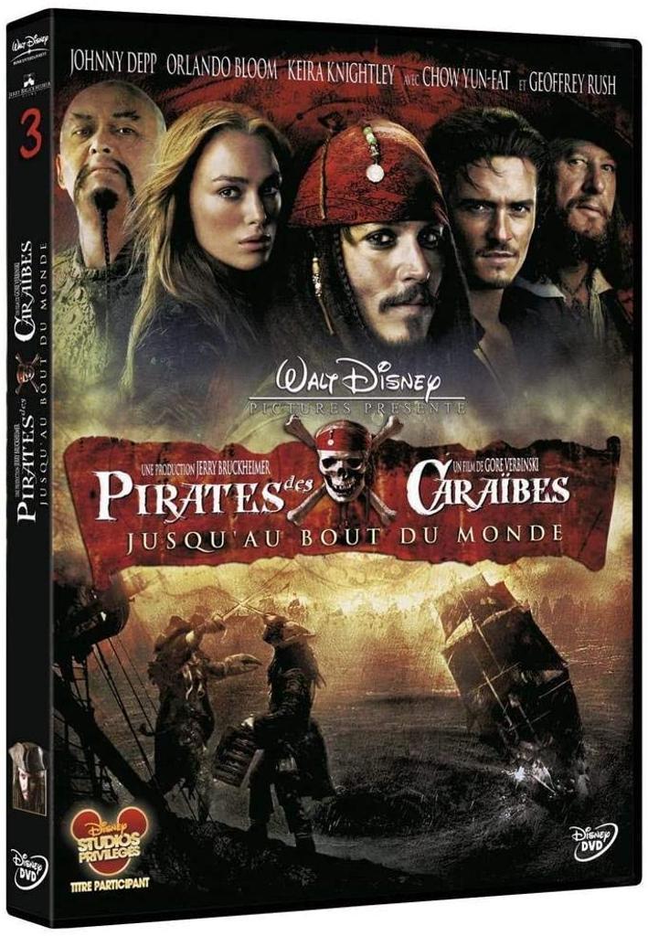 Pirates des Caraïbes : Jusqu'au bout du monde / Gore Verbinski, réal.  