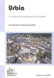 Eco-quartiers et urbanisme durable |
