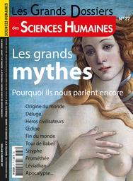 Les Grands dossiers des sciences humaines. 37, Décembre 2014 - Janvier 2015 |