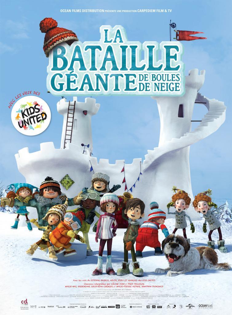 La Bataille géante de boules de neige / Jean-François Pouliot, réal. | Pouliot, Jean-François ((1957-....)). Monteur