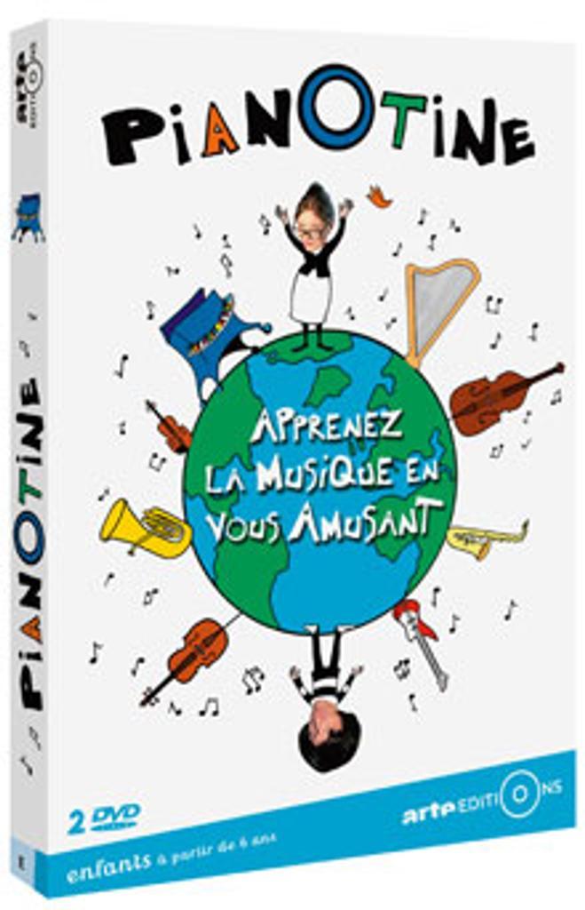 Pianotine : Apprenez la musique en vous amusant / Philippe Le Dem, réal.  