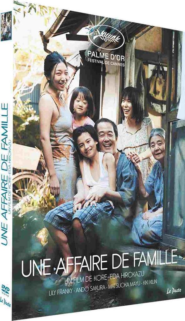 Manbiki kazoku = = Une affaire de famille / Kore-Eda Hirokazu, réalisateur, scénario, auteur adapté  