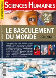 Sciences humaines. 332, 01/2021 |