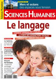Sciences humaines. 333, 02/2021 |