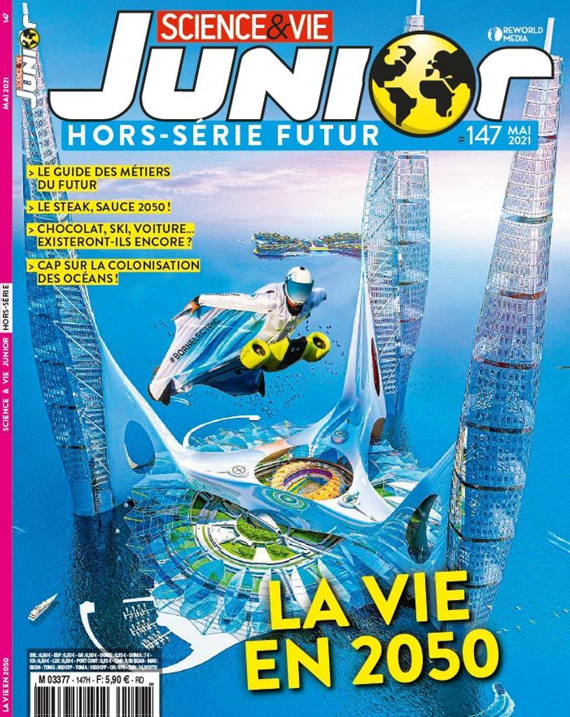 Science et vie junior. HS 147, 01/05/21 |
