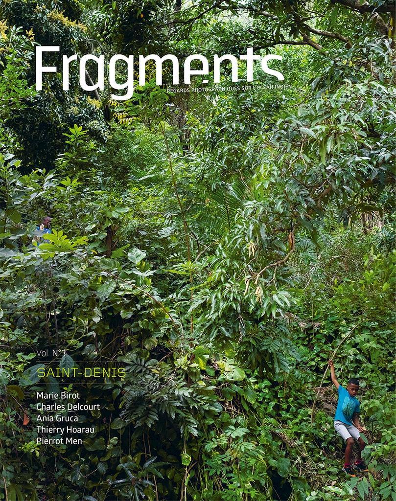Fragments : regards photographiques sur l'océan Indien : [résidence photographique] Saint-Denis, 2016 : Birot, Delcourt, Gruca, Hoarau, Pierrot Men / [textes] Marie Birot. 3 |