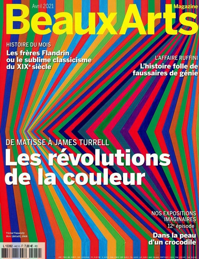 BEAUX ARTS magazine. 442, Avril 2021 |