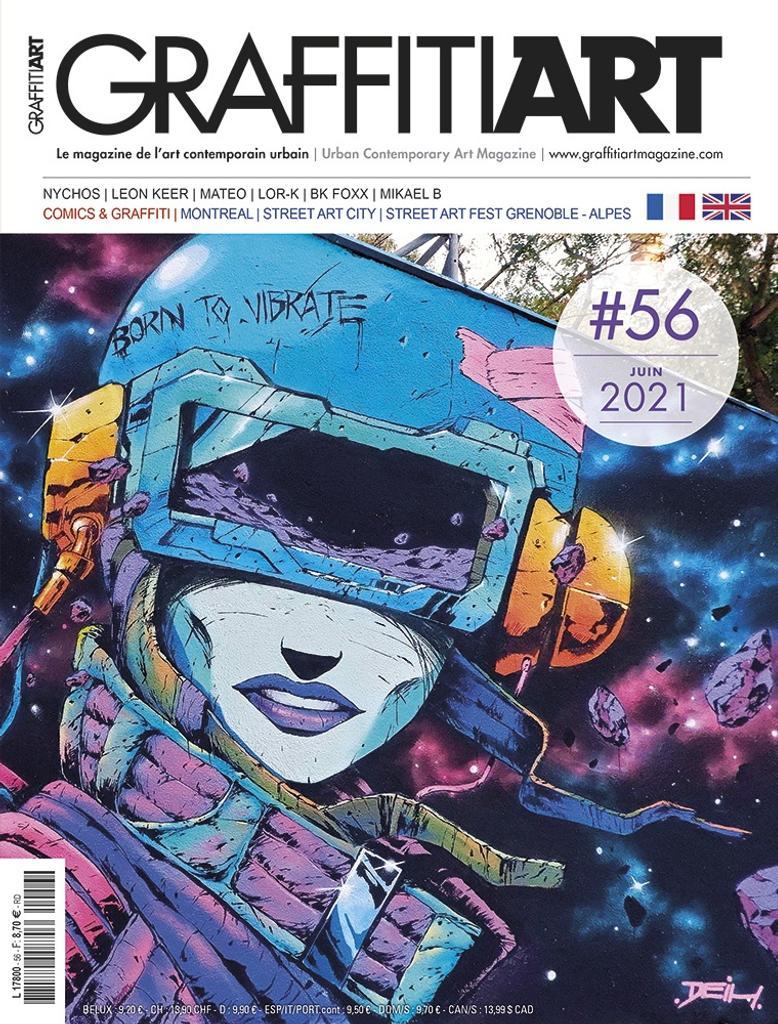 Graffiti Art magazine. 56, Juin 2021 |