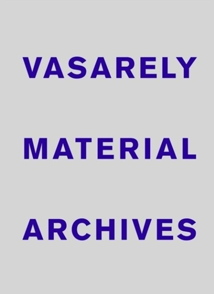 Vasarely material archives / Oran Hoffman |