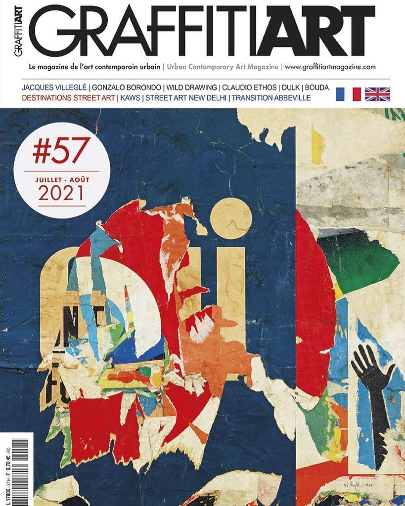 Graffiti Art magazine. 57, Juillet - Août 2021  